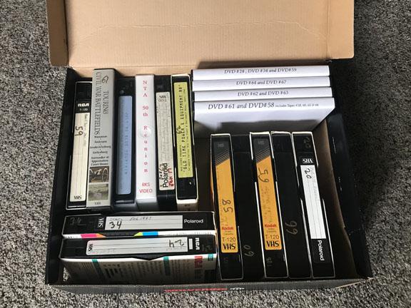 VHS & DVD's