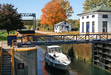 Cayuga-Seneca Canal Lock CS4, Waterloo