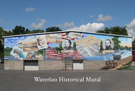 Waterloo Historical Mural